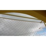 rede protetora de piscina de condomínio