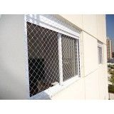 Sites de rede proteção janela na Vila Tibiriçá