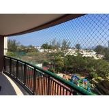 tela de proteção para apartamento preço em Água Rasa