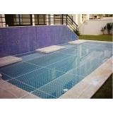 tela para piscina coberta