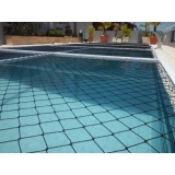 tela para piscina na Penha