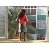telas de proteção em janelas no Parque São Rafael