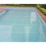 telas para cobrir piscina no Parque do Carmo