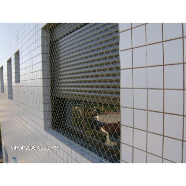 Valores Instalar Rede Proteção Janela no Jardim Riviera - Rede de Proteção para Janelas no ABC