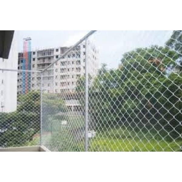 Valores para Instalar Rede de Proteção de área Externa em São Bernardo Novo - Rede de Proteção para Janelas Preço